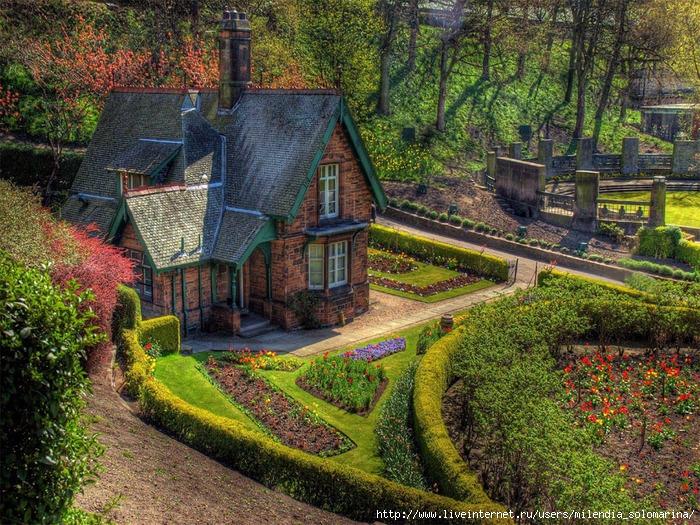 фото английские деревушки