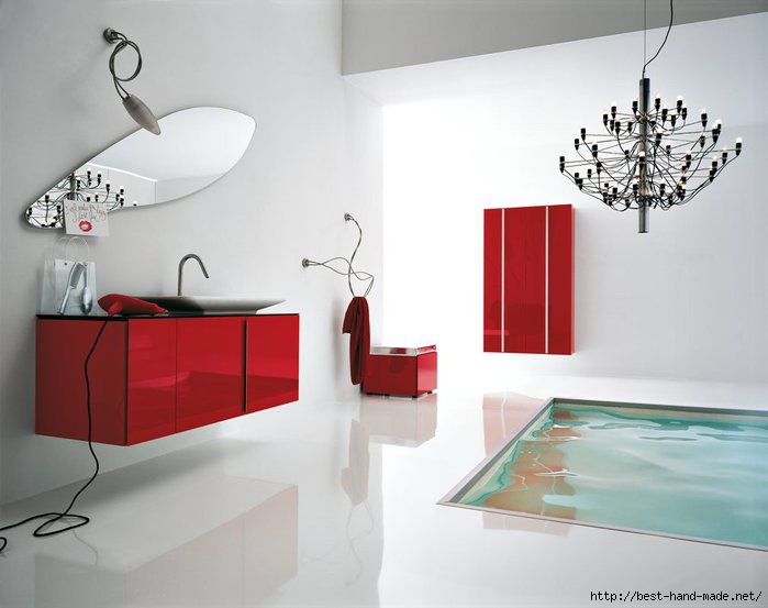 Best-Modern-White-and-Red-Bathroom-Floor-Tub (700x553, 122Kb)