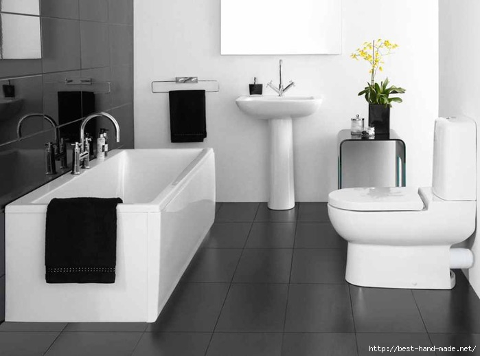 Black-White-Bathroom-Simple-Design-Ideas (700x518, 106Kb)