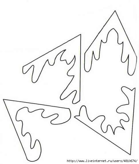 вырезать новогодние картинки из бумаги схемы шаблоны распечатать человек