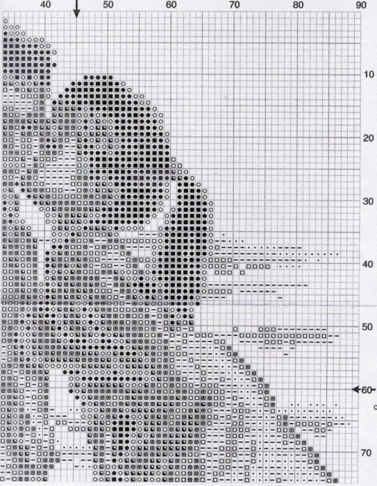 Stitchart-Kiss-on-the-Beach2 (543x700, 241Kb)