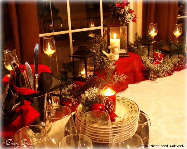 Christmas Lantern Buffet Setting (640x510, 286Kb)