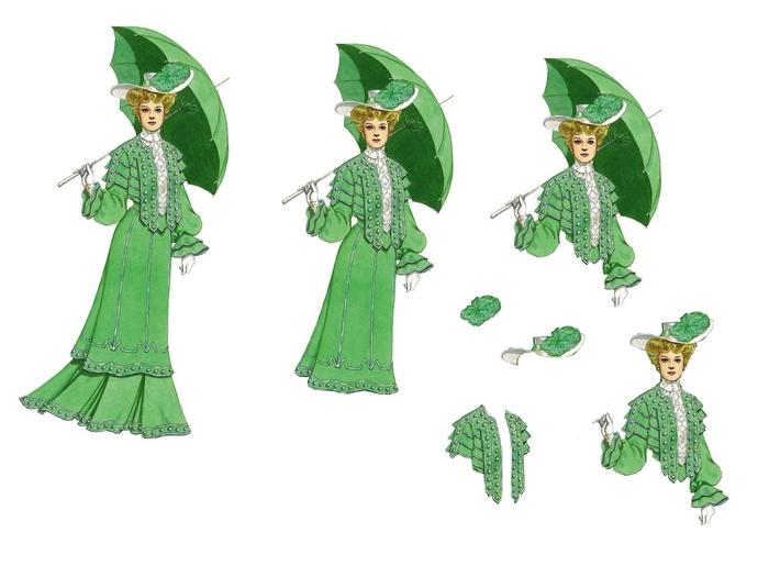 grande femme verte et ombrelle (700x525, 135Kb)