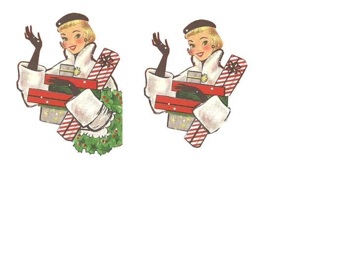 femme et cadeaux 2 (700x525, 96Kb)