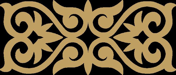 Фон с орнаментом зеленый