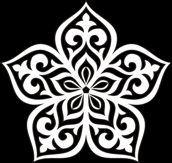 цветы картинки казахский орнамент