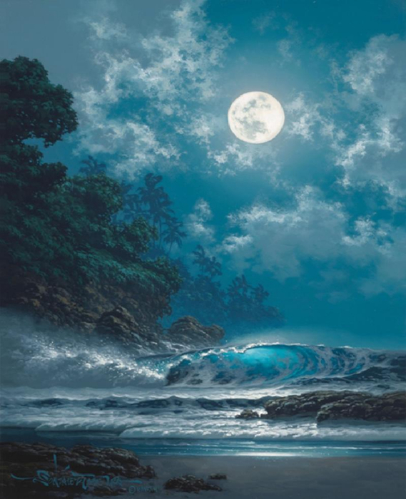 Roy Gonzalez Tabora 1956 - Hawaiian Seascape painter - Tutt'Art@ (9) (569x700, 341Kb)
