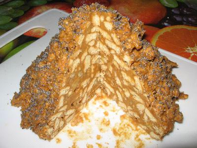 торт без выпечки муравейник рецепт