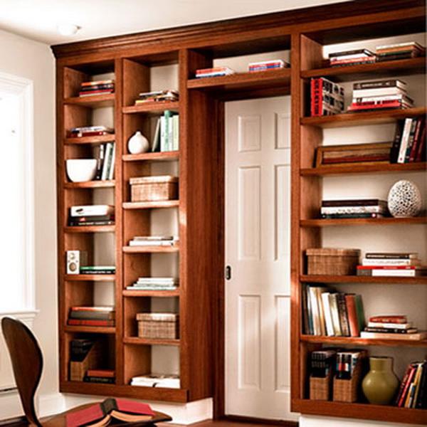 Built In Bookshelve: Деревянный стеллаж для книг своими руками. Обсуждение на