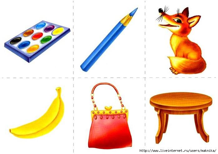 предметы картинки для детей