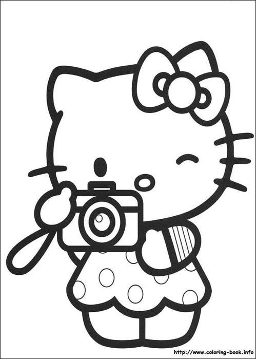Интересно для детей. Раскраски Hello, Kitty! Часть 3 ...