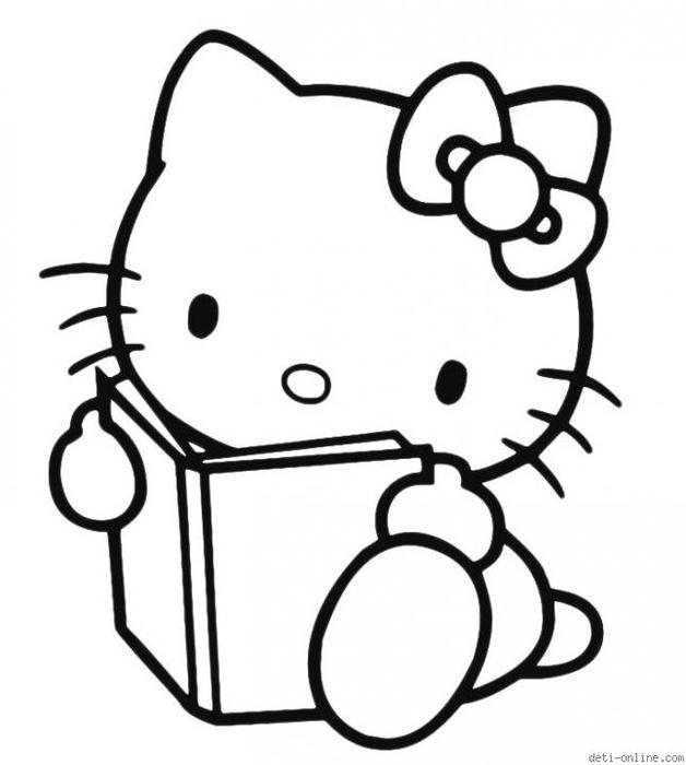 раскраски Hello Kitty обсуждение на Liveinternet