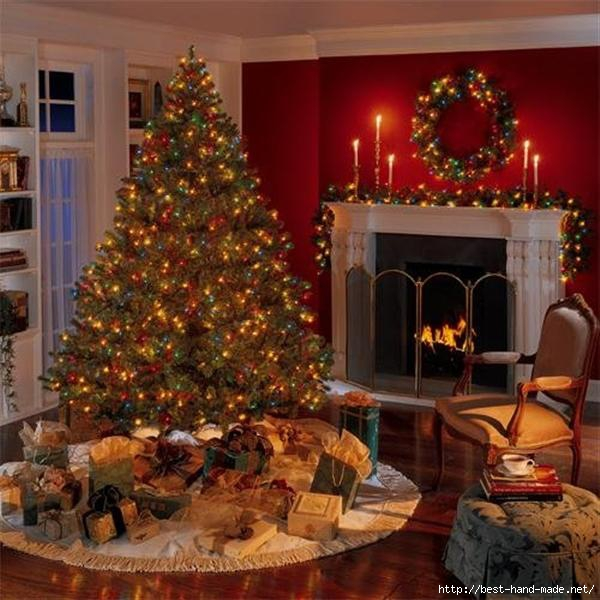 Christmas-Livingroom-Design-with-Decorating-fireplace-light-and-red-wall (600x600, 180Kb)