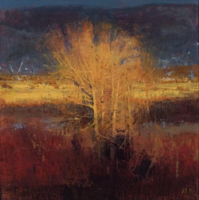 SunsetCottonwoods (695x700, 538Kb)