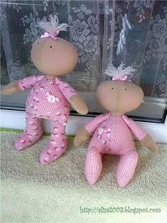 шитые куклы с выкройками