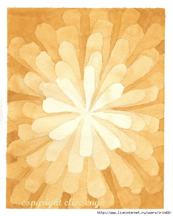 progressive watercolor gold (561x700, 227Kb)