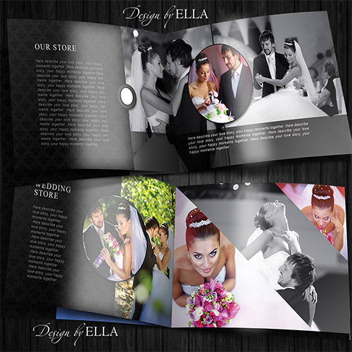 3-Template classic wedding books in dark style (500x500, 152Kb)