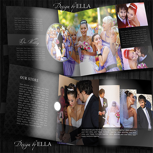 5-Template classic wedding books in dark style (500x500, 166Kb)