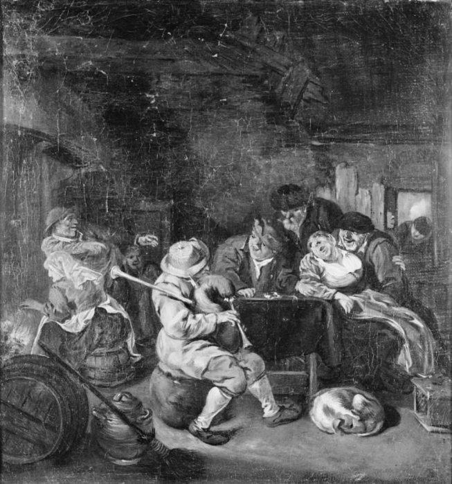 Bagpiper at an Inn. 1685 (653x700, 112Kb)