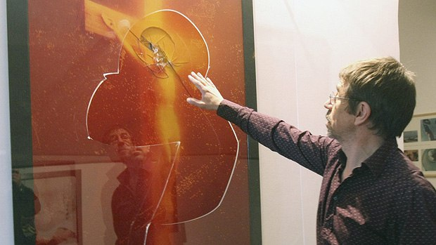 based on andres serrano's piss christ Start studying contemporary art trends final learn andres serrano, piss christ early organizing was based around meetings where the group would.