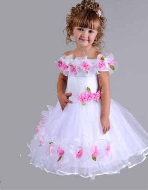 Как сшить новогодние платье для девочки своими руками