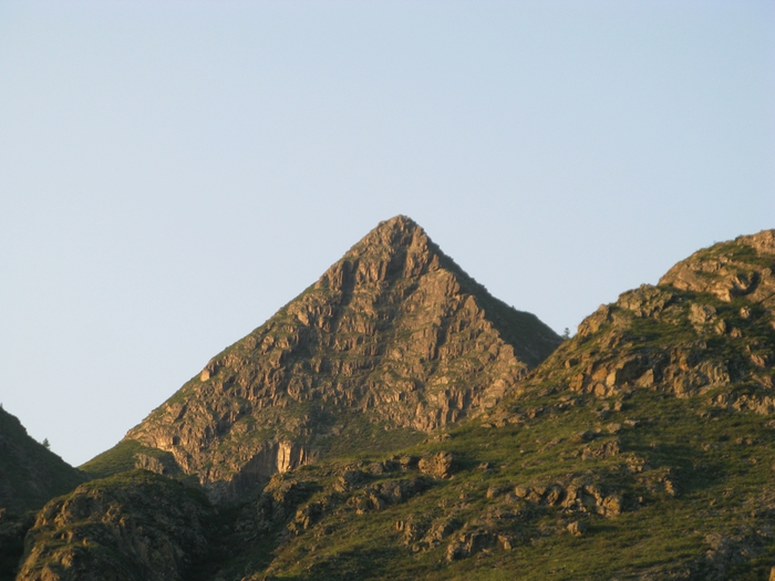 Красноярская пирамида фото