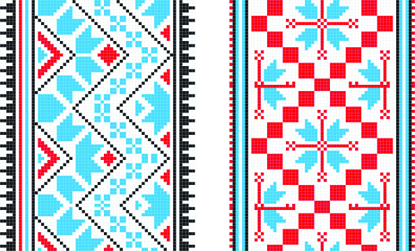 Ethnic Ukraine Patterns 41 (595x361, 909Kb)