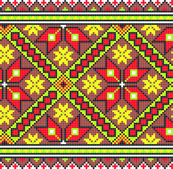 Ethnic Ukraine Patterns 43 (595x583, 1433Kb)