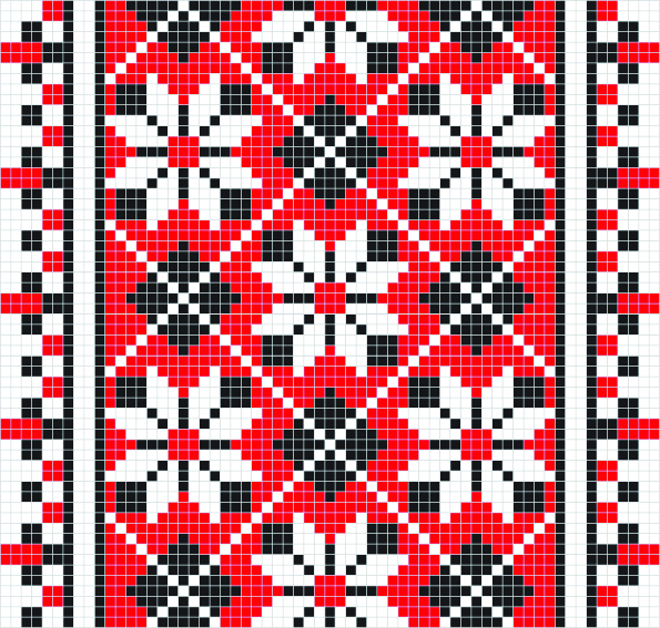 Ethnic Ukraine Patterns 45 (595x567, 1165Kb)