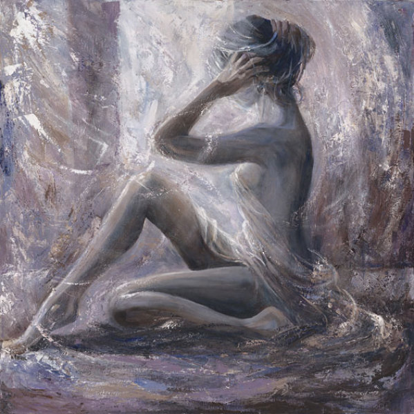 Karen Wallis - British Figurative painter - Tutt'Art@ (53) (599x600, 100Kb)