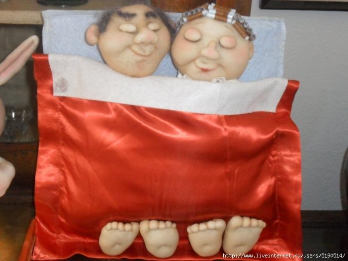 куклы из капрона под одеялом