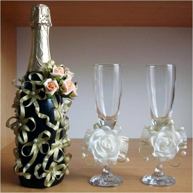 Украшение Бутылок Шампанскогосвоими Руками :: sdelai-sam