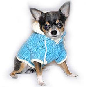 Как связать одежду для собаки крючком – праздничный комбинезон.