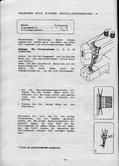 Инструкция на швейную машинку necchi 559