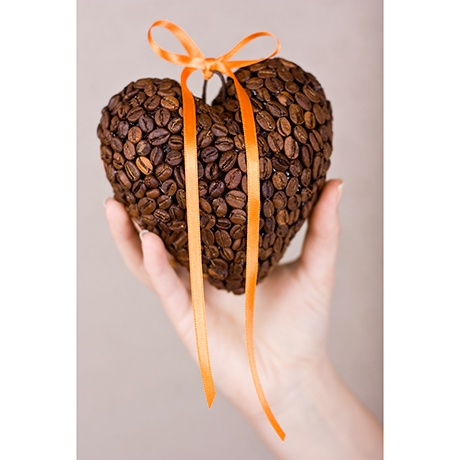 Кофейное сердце своим руками фото 34