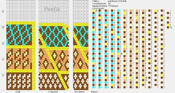 Галерея вязанных жгутиков-шнуриков и узоры к ним fo - всё о 52