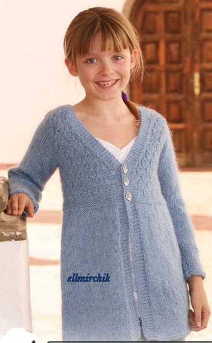 кардиган для девочки самое интересное в блогах