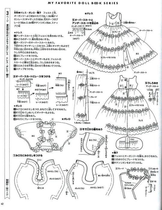 Платья для кукол выкройки бальные платья фото 472