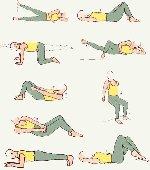 Как быстро похудеть в бедрах и ягодицах:4 эффективных упражнения.