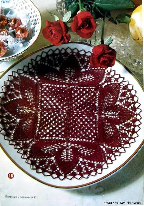 группа ажурное вязание