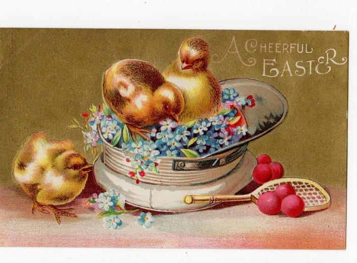 Открытку, первая пасхальная открытка