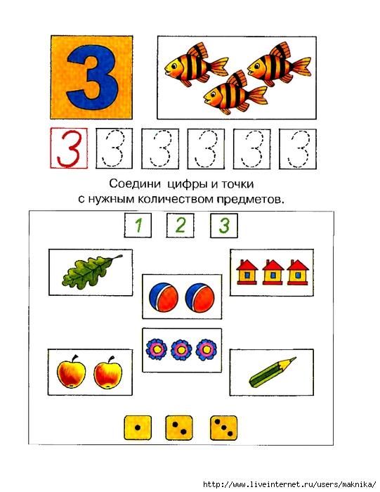 цифра числа знакомство 3 с составом