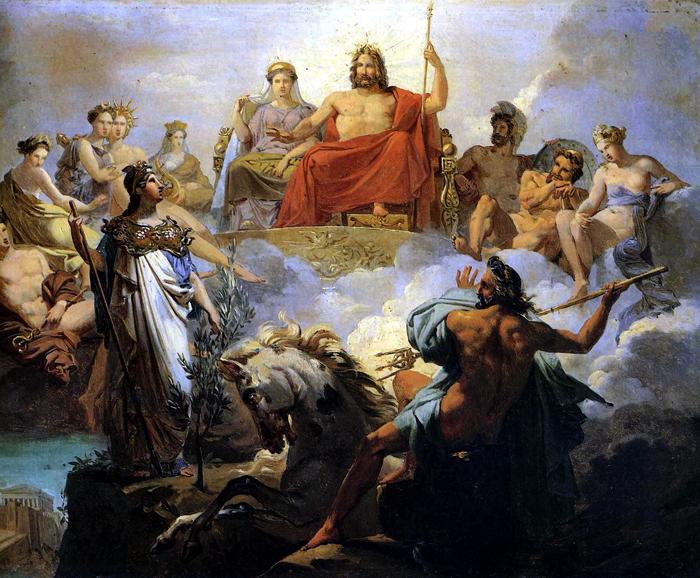 Происхождение древнегреческих им н