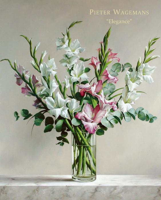 цветочные натюрморты Pieter Wagemans (563x700, 390Kb)