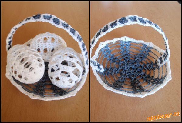 Вязаные корзинки и вазочки для пасхальных яиц. Обсуждение ...