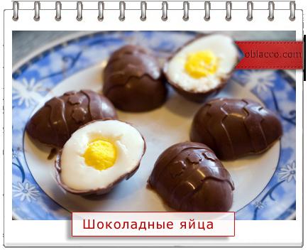 Оригинальный пасхальный десерт в виде яйца