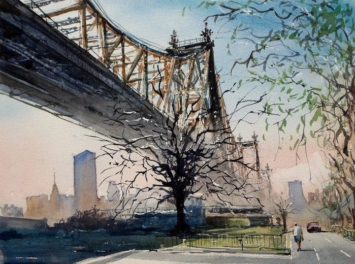 Bridge to Manhattan (700x520, 130Kb)