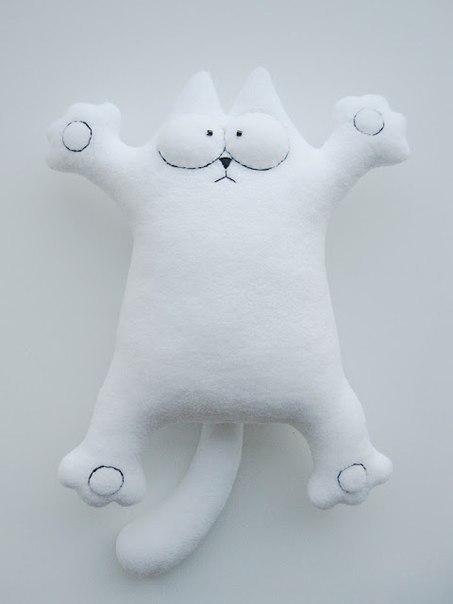 Подушка игрушка кот своими руками выкройки - Выкройка