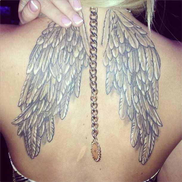 тату крылья ангела фото анастасии ковалевой писать