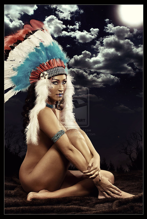 tit nude native american women big